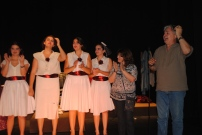 Orquesta de señoritas (taller de teatro 2011)