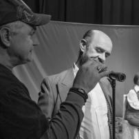 Pequeño Cyrano Ilustrado, backstage